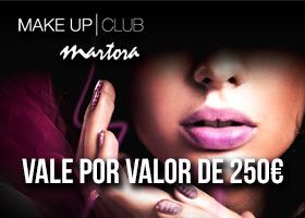 250€ en maquillaje profesional MARTORA