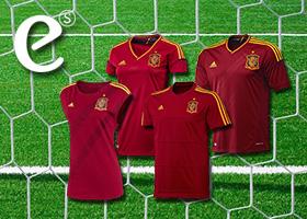 Anima a nuestra selección con las camisetas oficiales de la Euro2012