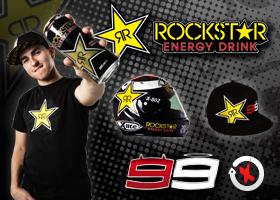 Gana un casco firmado Rockstar y 10 gorras exclusivas