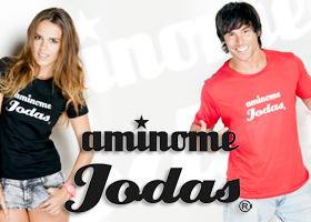 5 camisetas ¡Aminome Jodas!