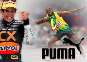 Material deportivo Usain Bolt PUMA
