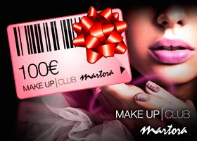 VALE DE 100€ EN PRODUCTOS DE MAQUILLAJE MAKE-UPCLUB