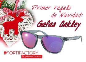Primer regalo de Navidad: gafas Oakley