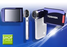 Videocámara Toshiba Full HD
