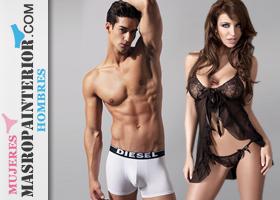 Cupón 120€ en ropa interior primeras marcas, masculina y femenina