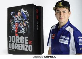 Libro oficial firmado de Jorge Lorenzo