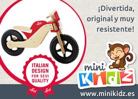 Consigue esta bicicleta con MiniKidz