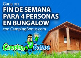 Gana un Fin de semana en Bungalow con CampingBonus