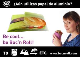 ¡Consigue tu portabocadillos Boc'n Roll!