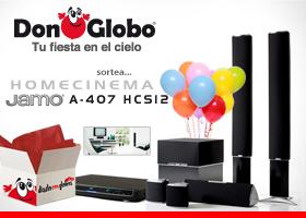 Sorteo Homecinema Jamo A407HCS12 gracias a DonGlobo