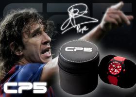 Reloj CP5, el único inspirado en el universo del futbol