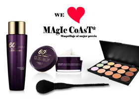 LUJOSO LOTE CON PRODUCTOS de MAgIc CoAsT