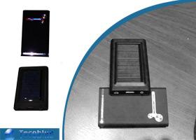 Cargador solar Elegante Tecoblue