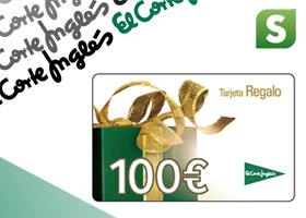HAZTE CON UNA TARJETA DE 100€ DE REGALO DEL CORTE INGLÉS
