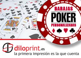 Juega al Poker con tu propia baraja de cartas personalizada