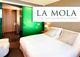 Noche y cena para 2 en Hotel La Mola