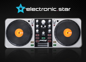 ¡Consigue este espectacular Controlador DJ!