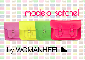 Consigue un satchel bag de Womanheel