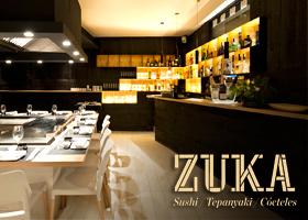 Cena en el restaurante Zuka Japonés (Sant Cugat)