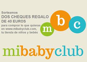 MiBabyClub.com sortea dos vales de 40 euros