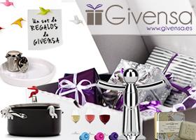 Consigue los regalos perfectos con Givensa.es