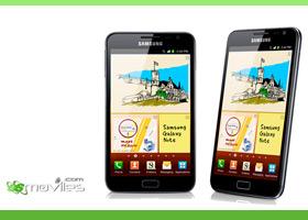 Samsung Galaxy Note por la cara