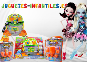 PackExclusivo de Monster High o Basurillas