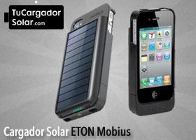 Cargador Solar iPhone 4 Eton Mobius