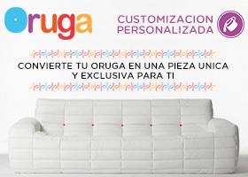 Sofá Oruga 100% Personalizado!