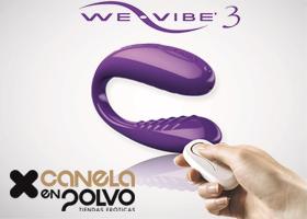 2 Vibradores WE-VIBE 3 de Canela en Polvo