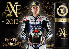Conoce a Jorge Lorenzo y gana con AXE.