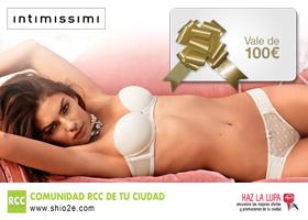 Gana una tarjeta regalo de 100€ para Intimissimi