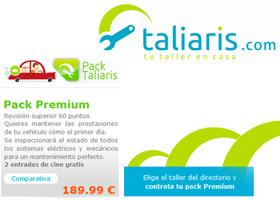 Pon tu vehículo a punto con taliaris.com