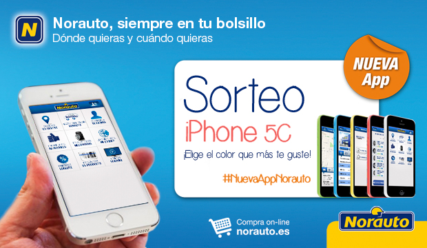 CONSIGUE UN IPHONE 5C