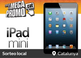 Guanya un Ipad Mini gràcies a la MegaPromo.cat