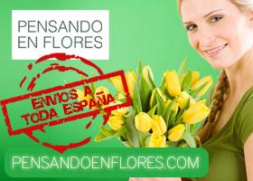 REGALA FLORES A DOMICILIO CON PENSANDOENFLORES.COM