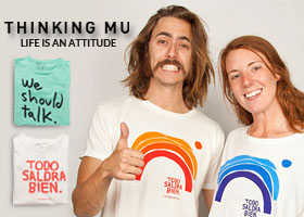 THINKINGMU REGALA SEIS CAMISETAS ECOLÓGICAS