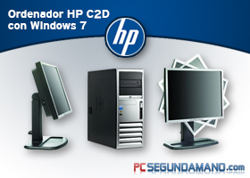 Ordenador HP C2D con Windows 7
