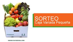 GANA UNA CAJA VARIADA DE FRUTAS Y VERDURAS DE DISFRUTA & VERDURA