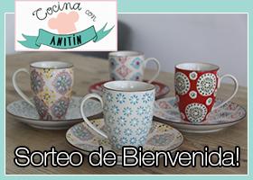 SORTEO DE BIENVENIDA DEL CANAL DE RECETAS COCINA CON ANITIN