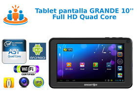 Tablet 10 pulgadas Full HD
