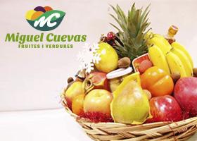 Gana una cesta de Frutas y Verduras