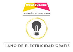 GANA 1 AÑO DE ELECTRICIDAD GRATIS CON HOLALUZ.COM