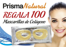 PRISMA NATURAL REGALA 100 MASCARILLAS DE COLAGENO