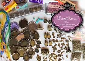 Haz tus propios complementos con Lolitacharms