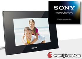 Gana un fantástico marco digital Sony