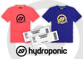 Ricky Cardus y Hydroponic te regala 2 entradas + 2 camisetas