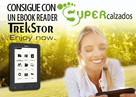 Consigue un Ebook Reader TrekStor