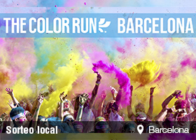 THE COLOR RUN BARCELONA : 18 de Mayo de 2014