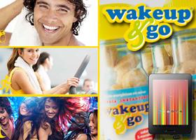 GANA UNA TABLET Y LOS CHICLES ENERGETICOS DE WAKEUP & GO